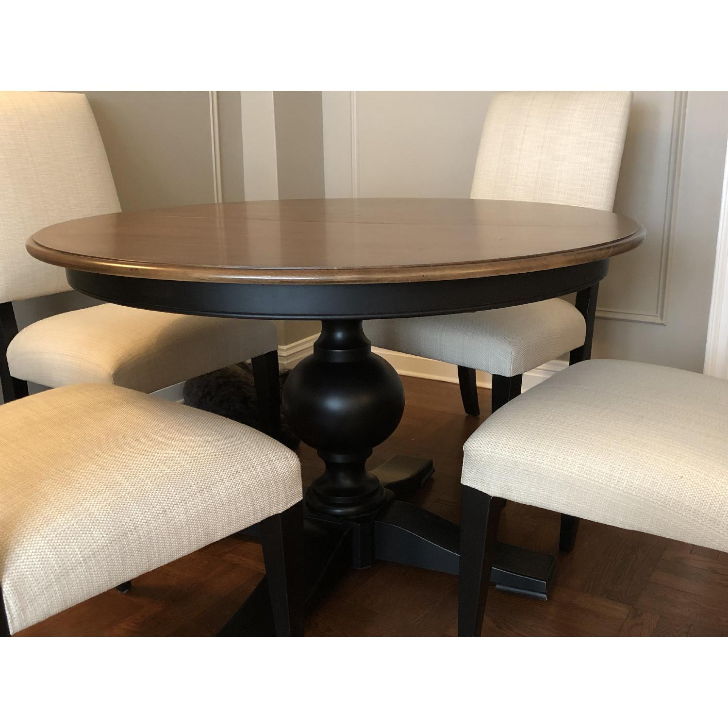 Ethan Allen Expandable Dining Table w/ 4 Chairs - image-3