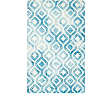 Safavieh Dip Dye Watercolor Wool Rug