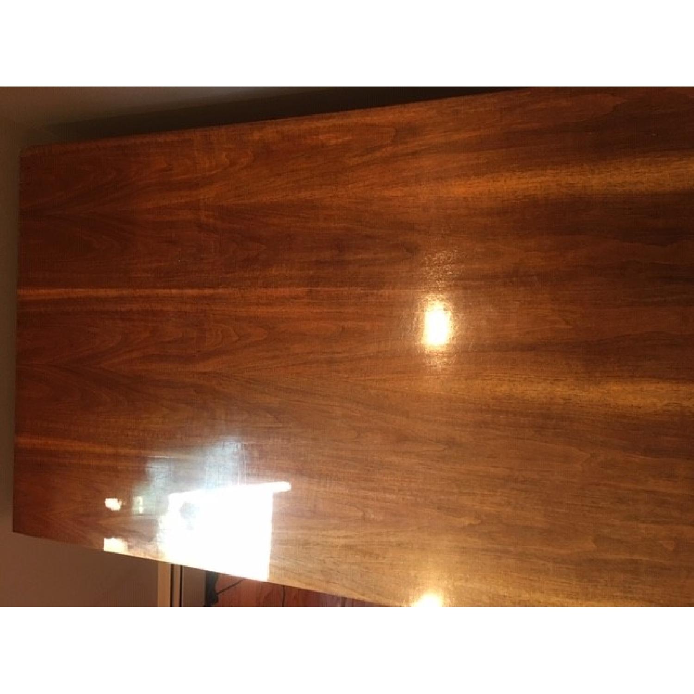 Vintage Solid Oak 6-Drawer Principal's Desk - image-10