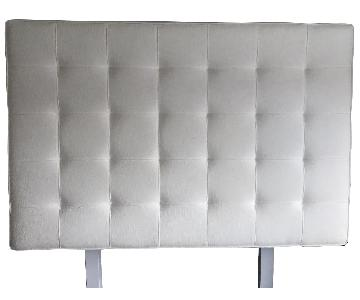 Lexington Ivory Tweed Upholstered Headboard