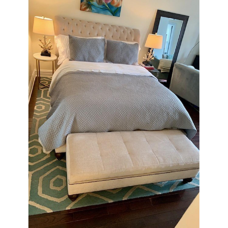 Macy's Victoria Upholstered Queen Bed - image-2