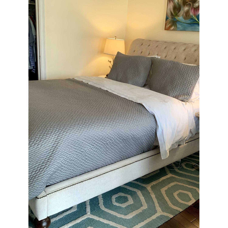 Macy's Victoria Upholstered Queen Bed - image-4