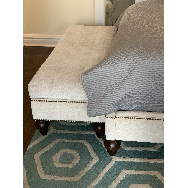 Macy's Victoria Upholstered Queen Bed - image-5