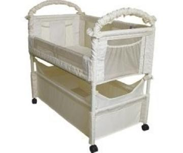 Clear Vue Co Sleeper Crib