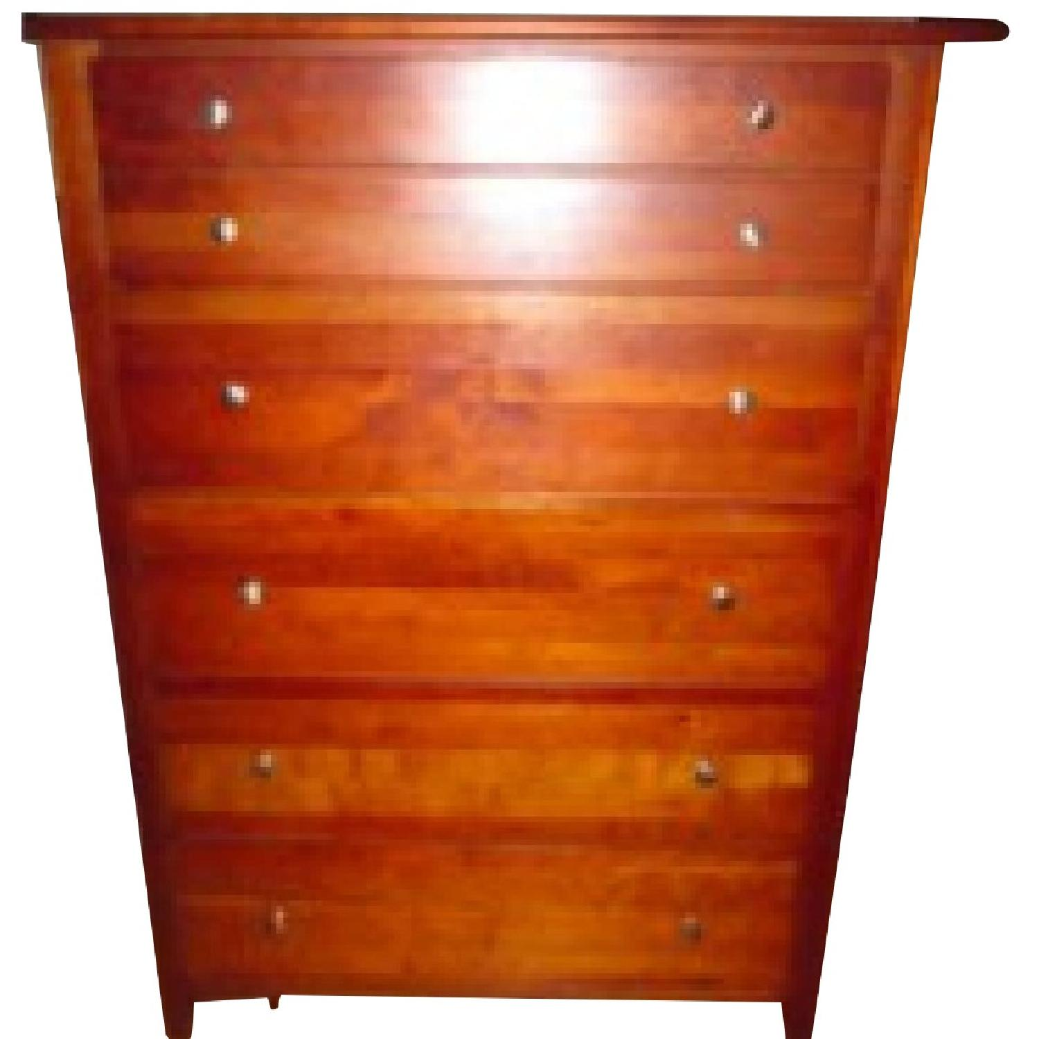 Stanley Wood 5 Drawer Chest - image-0