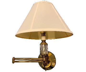 Brass Swing Arm Wall Lamps