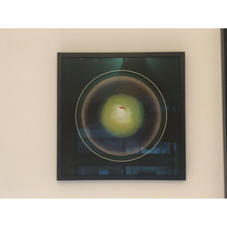 Khusro Subzwari Original Abstract Oil on Canvas - image-1
