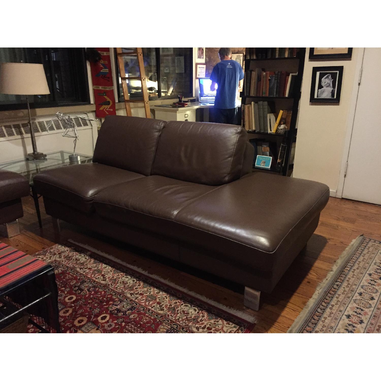 Gammarr Italian Leather 2 Seater Sofa - image-1
