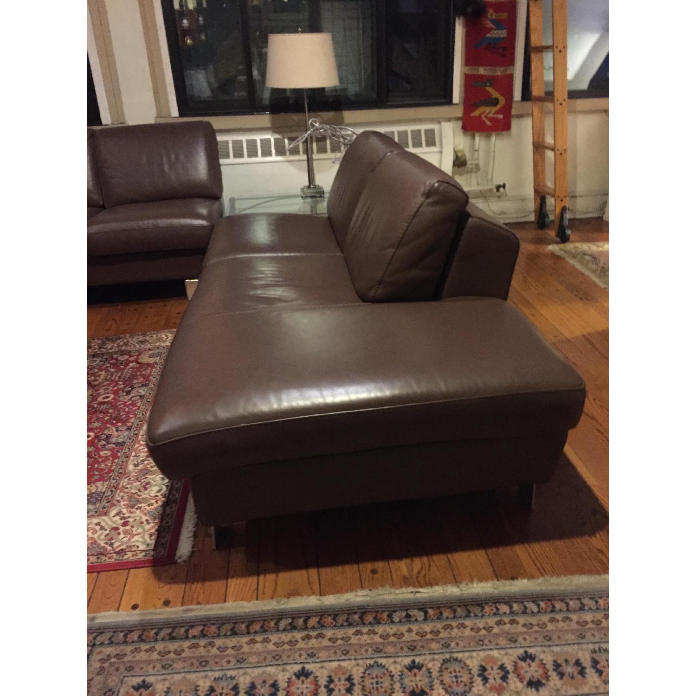 Gammarr Italian Leather 2 Seater Sofa - image-2