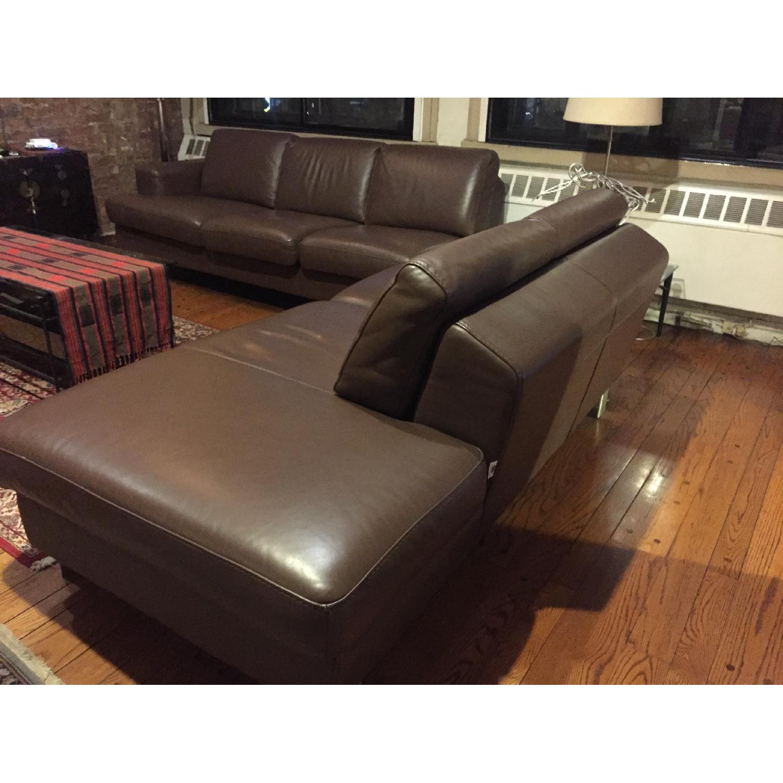 Gammarr Italian Leather 2 Seater Sofa - image-3