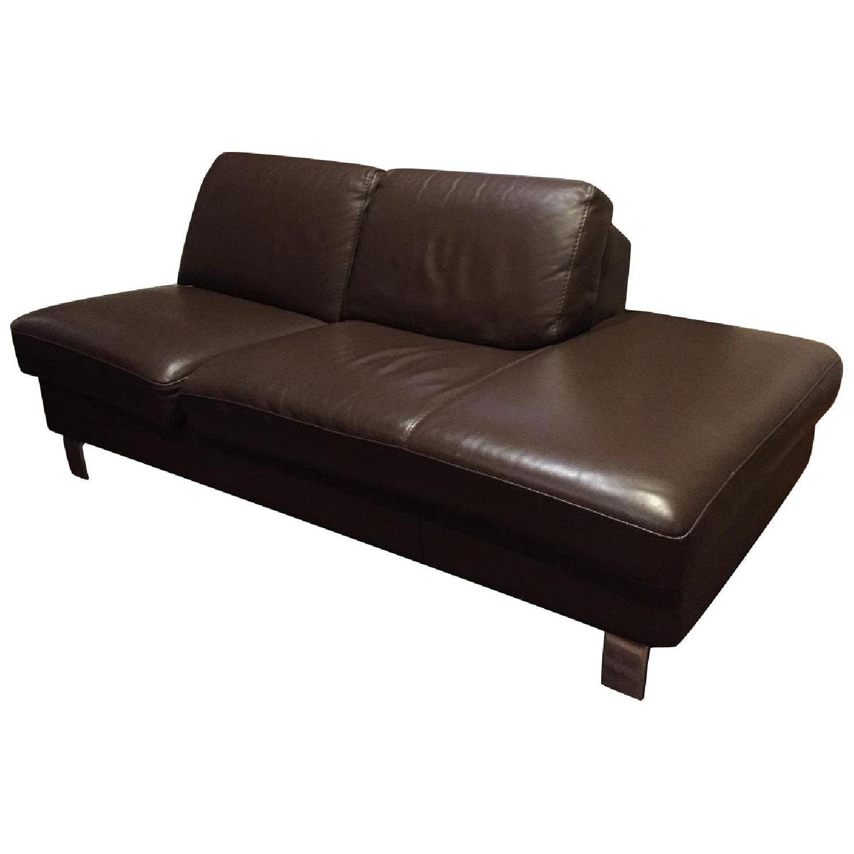 Gammarr Italian Leather 2 Seater Sofa - image-0