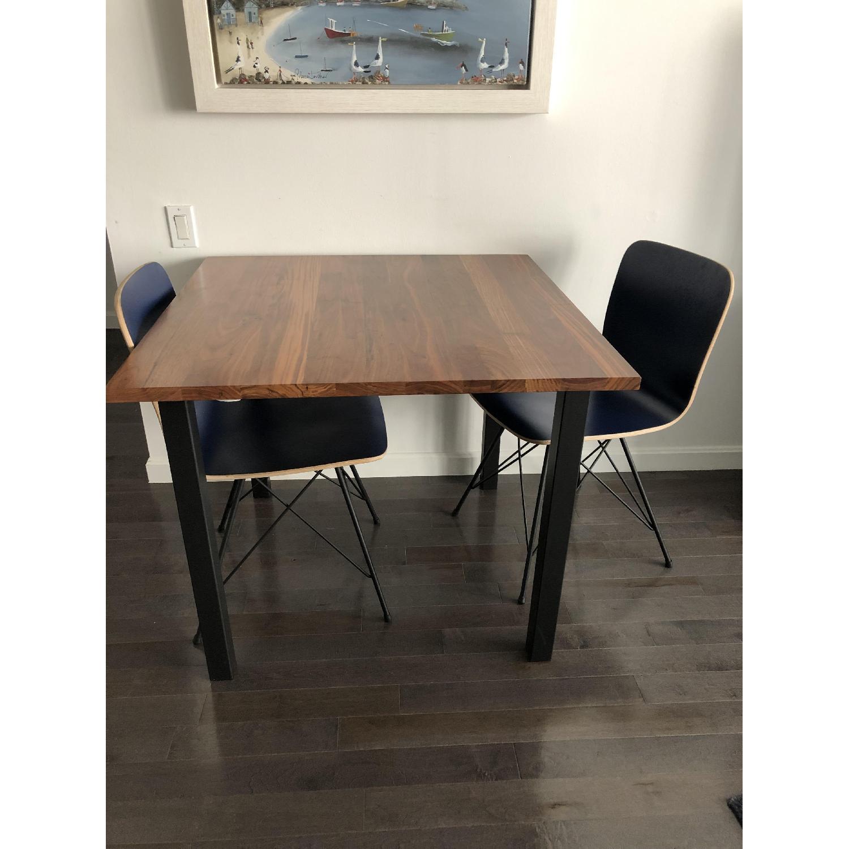 Room & Board Parsons Leg Walnut Dining Table - image-1