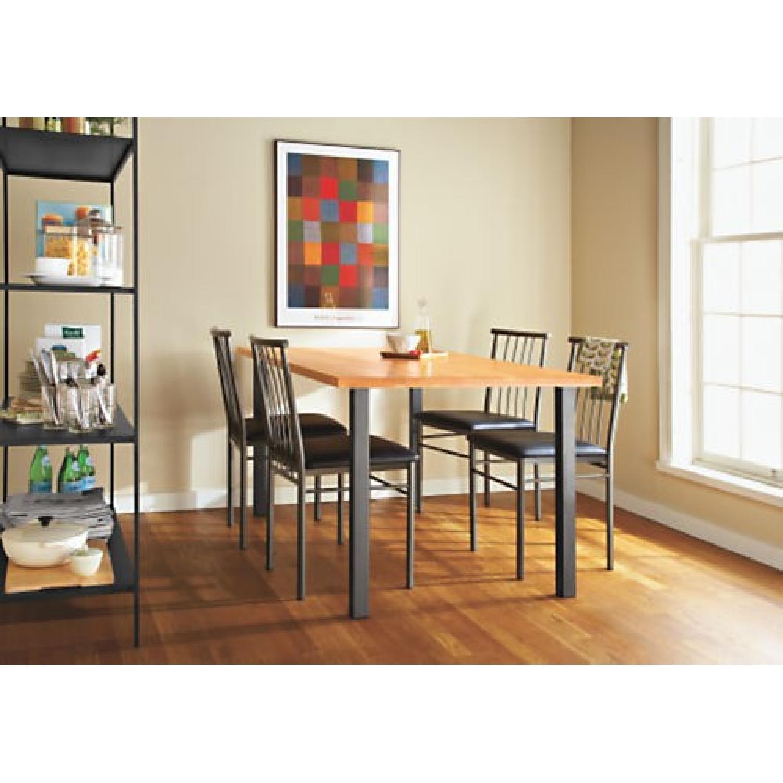 Room & Board Parsons Leg Walnut Dining Table - image-2