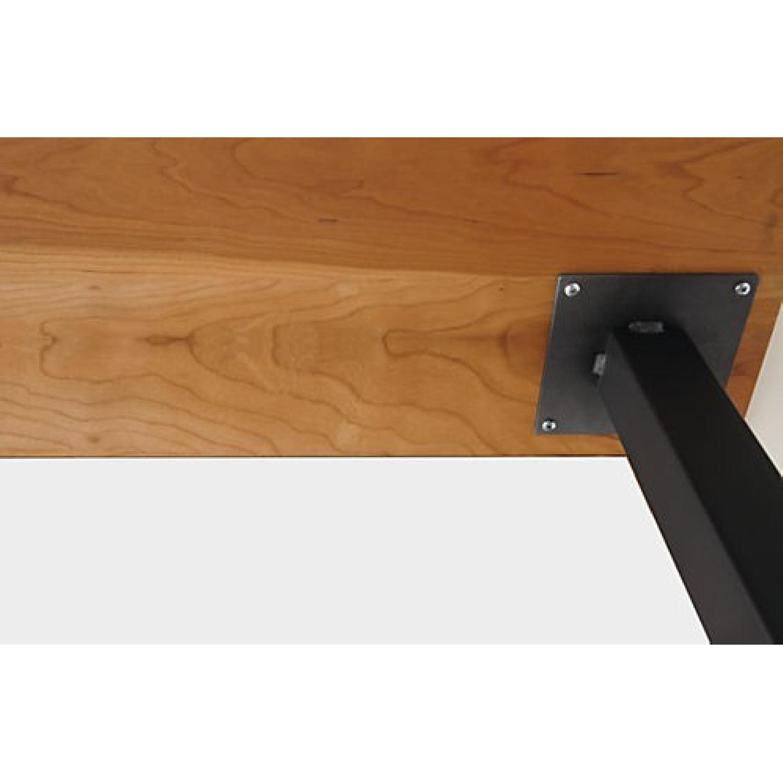 Room & Board Parsons Leg Walnut Dining Table - image-3