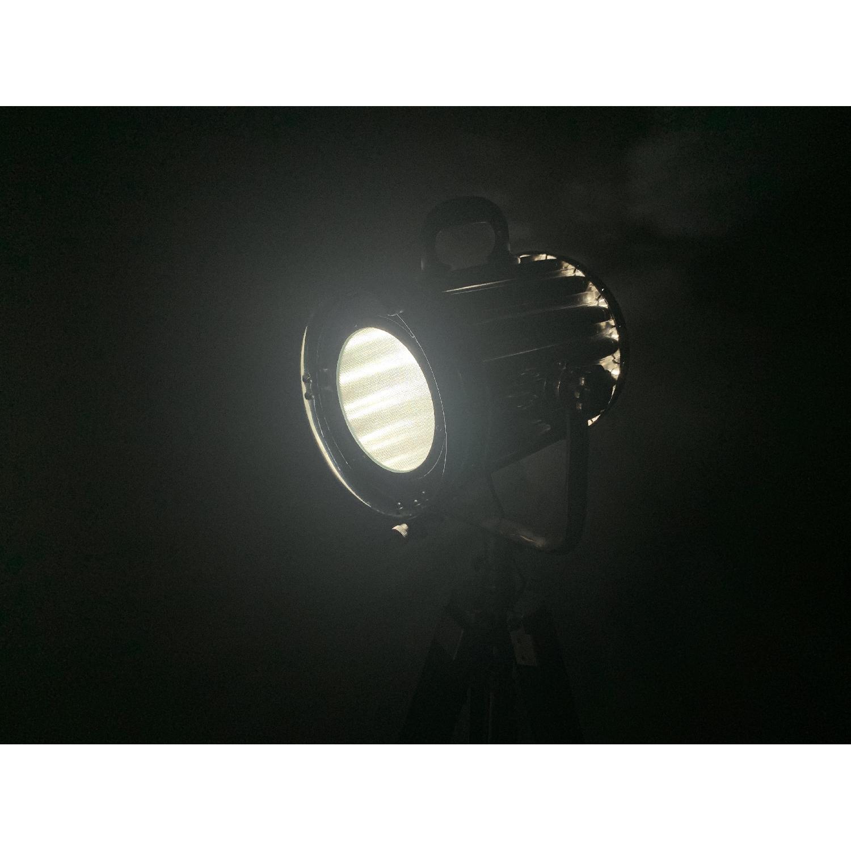Modern Hollywood Floor Lamp w/ Black Tripod Stand - image-5