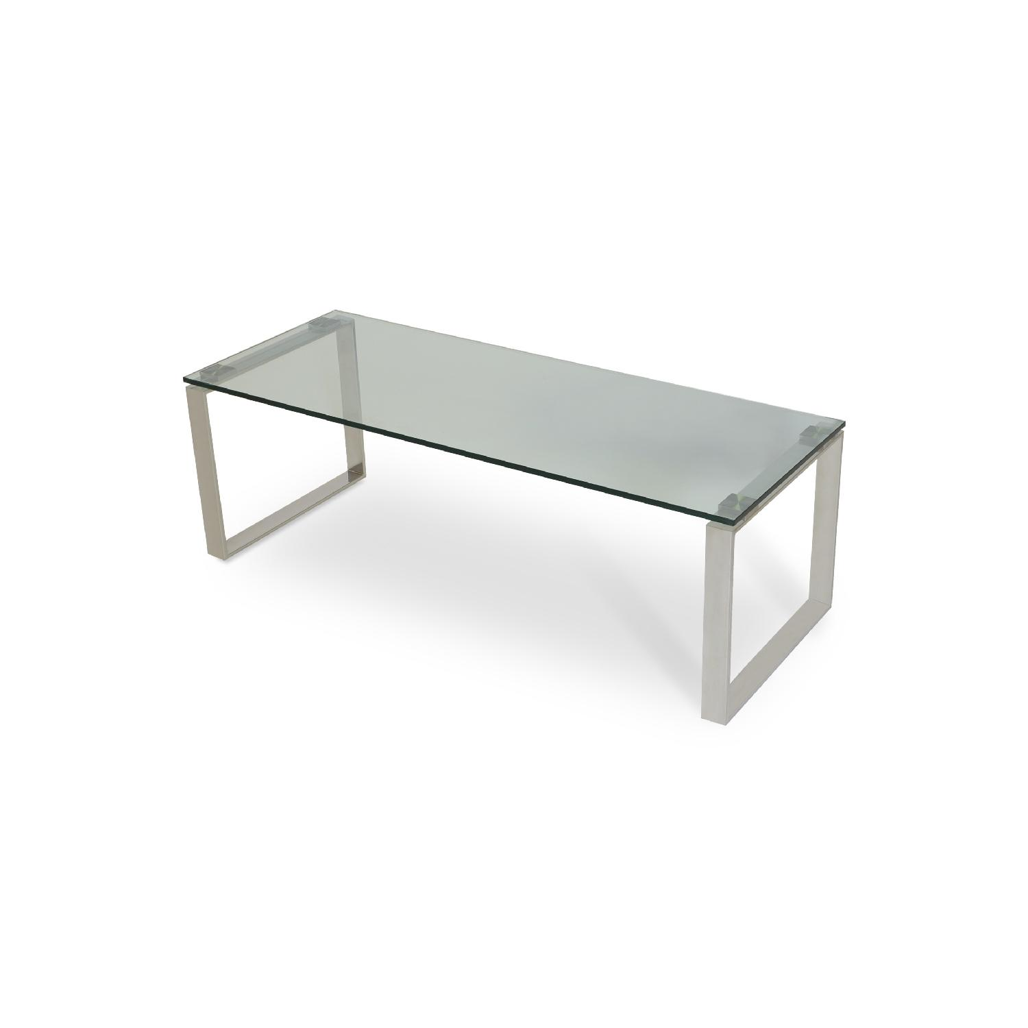 sohoConcept Calvin Glass Series Coffee Table - image-1