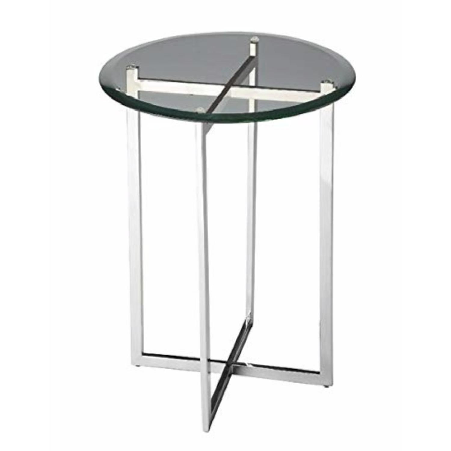 Room & Board Bond Glass End Table - image-0