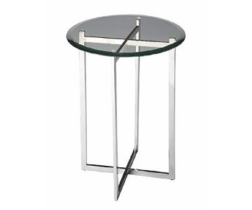 Room & Board Bond Glass End Table