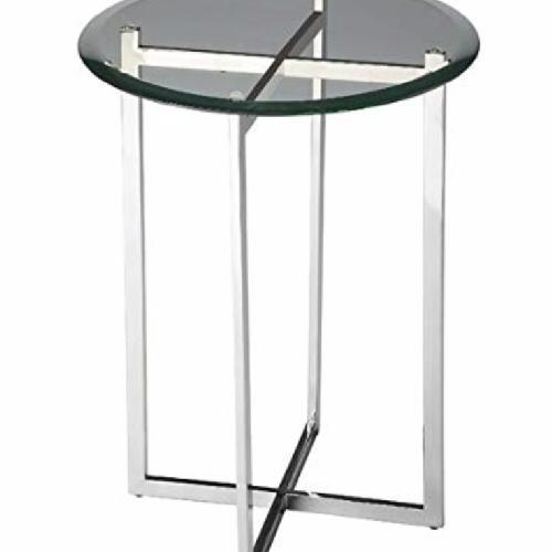 Used Room & Board Bond Glass End Table for sale on AptDeco