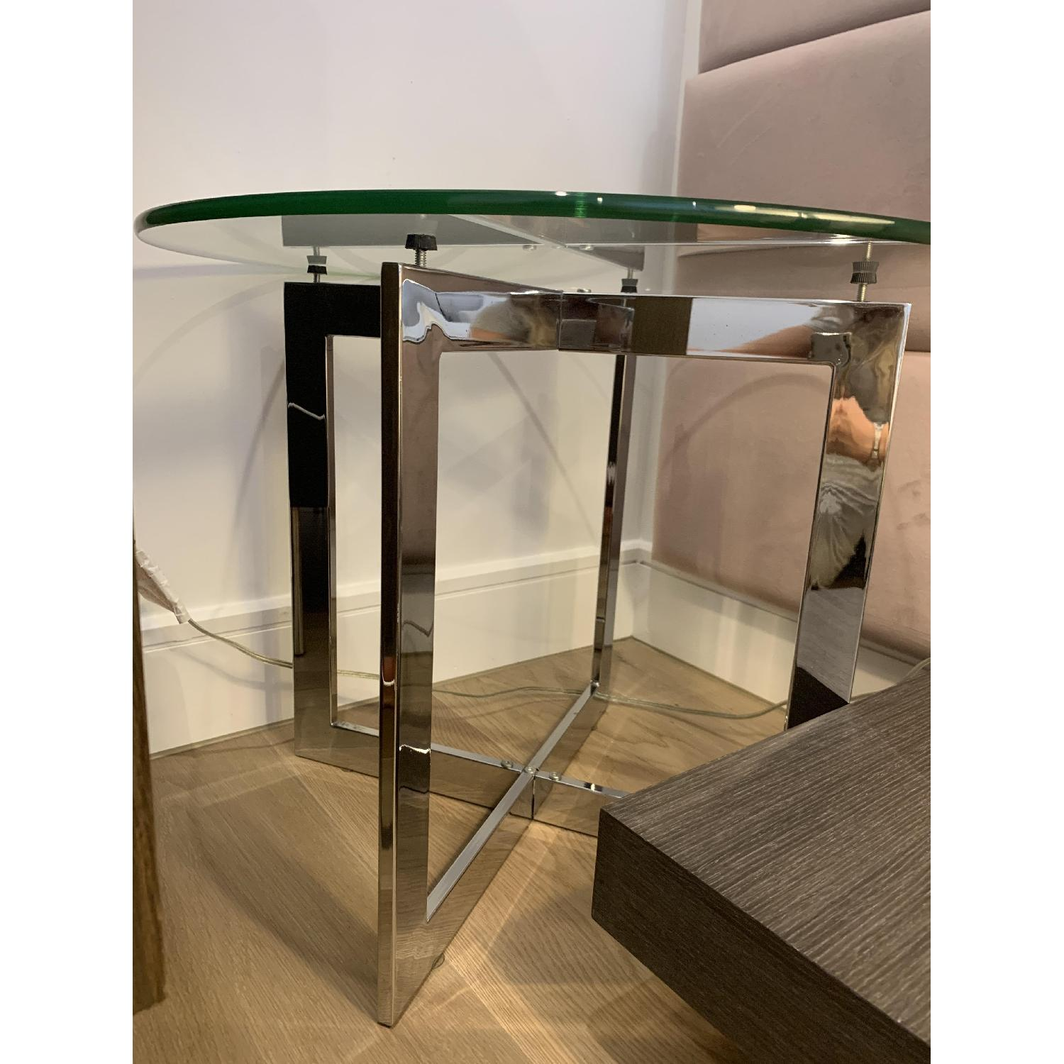 Room & Board Bond Glass End Table - image-3