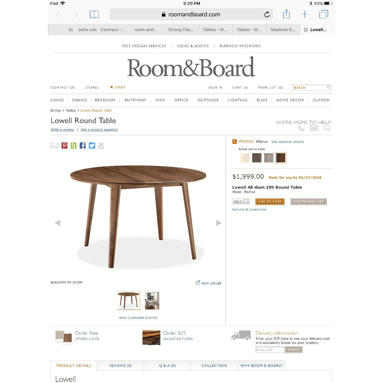 Room & Board Bradshaw Solid Walnut Table-2