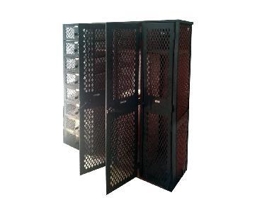 Heavy Duty Metal School 4 Tier Gym Locker