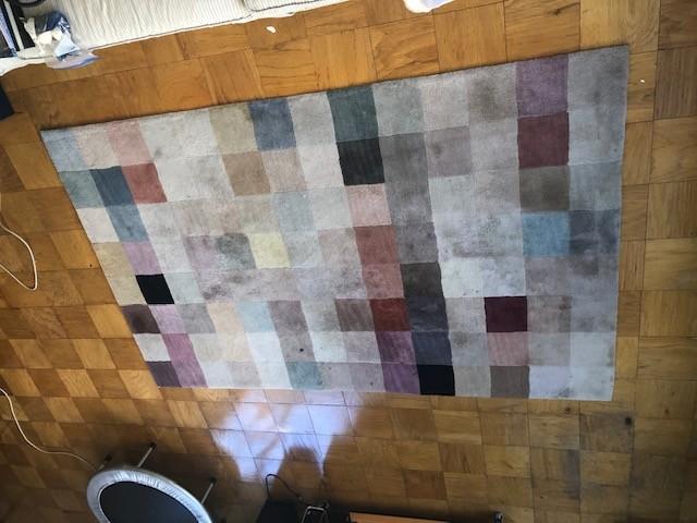 Pier 1 Color Block Rug