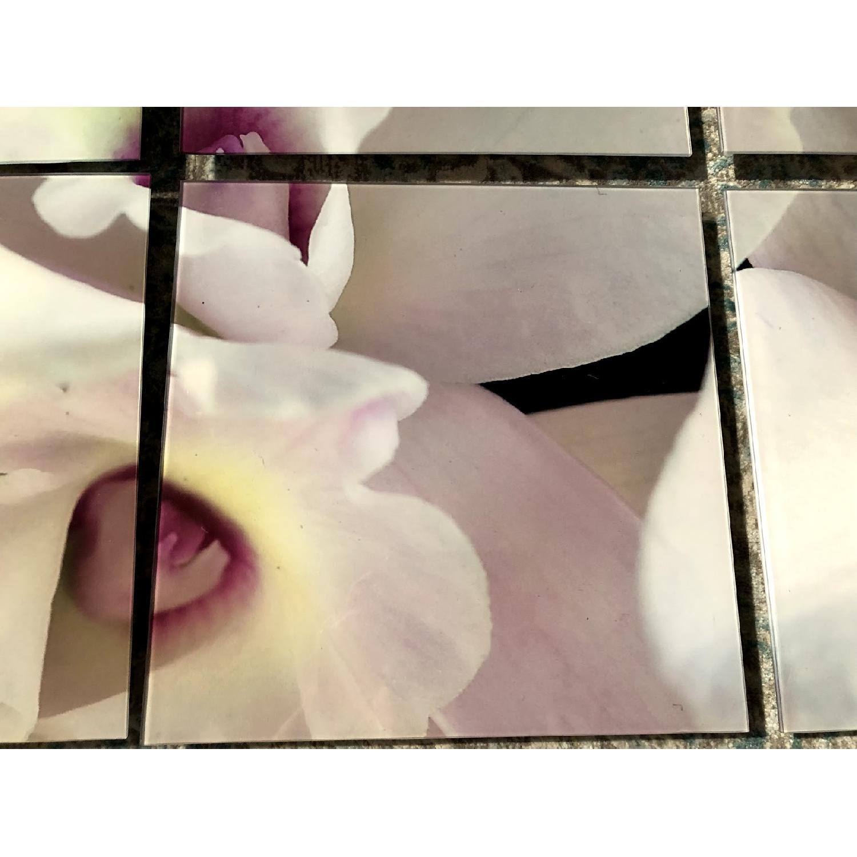 9-Piece Flower Wall Art - image-1