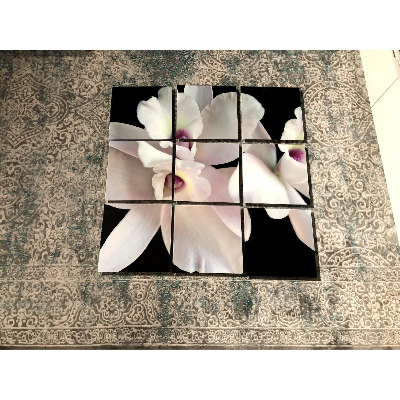 9-Piece Flower Wall Art - image-2