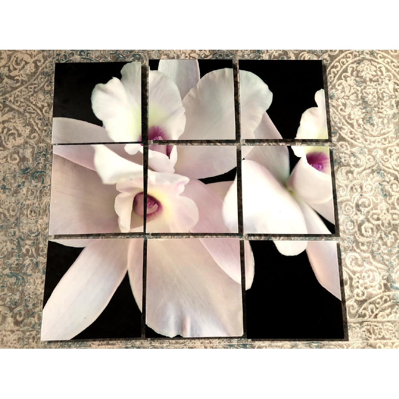 9-Piece Flower Wall Art - image-3