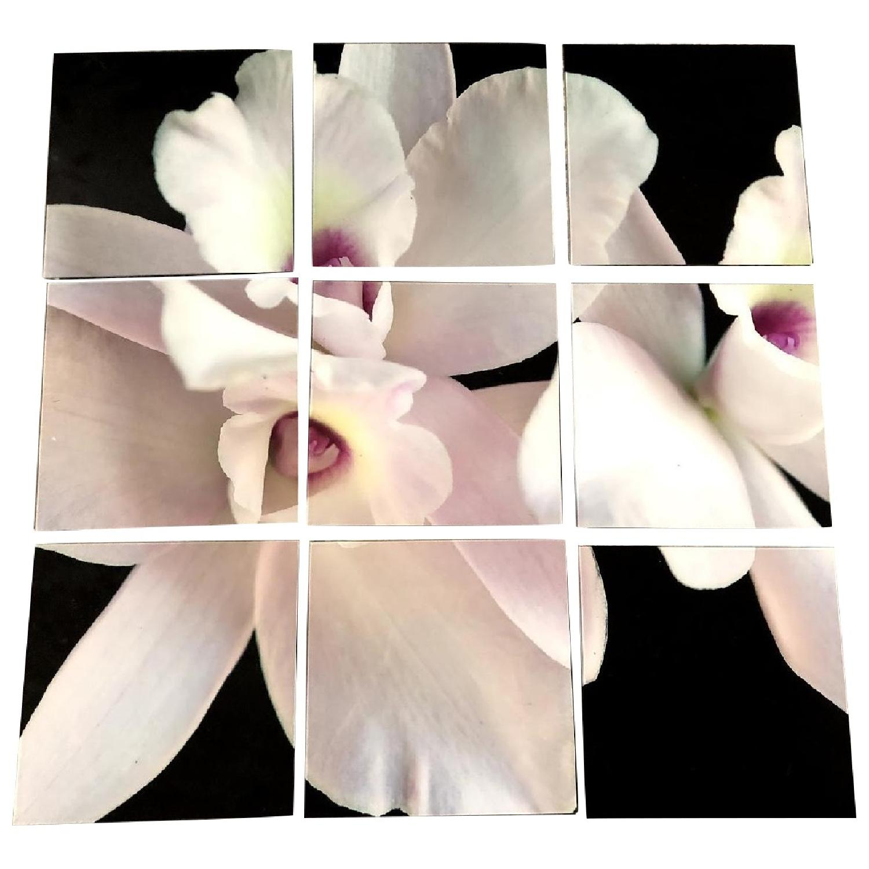 9-Piece Flower Wall Art - image-0