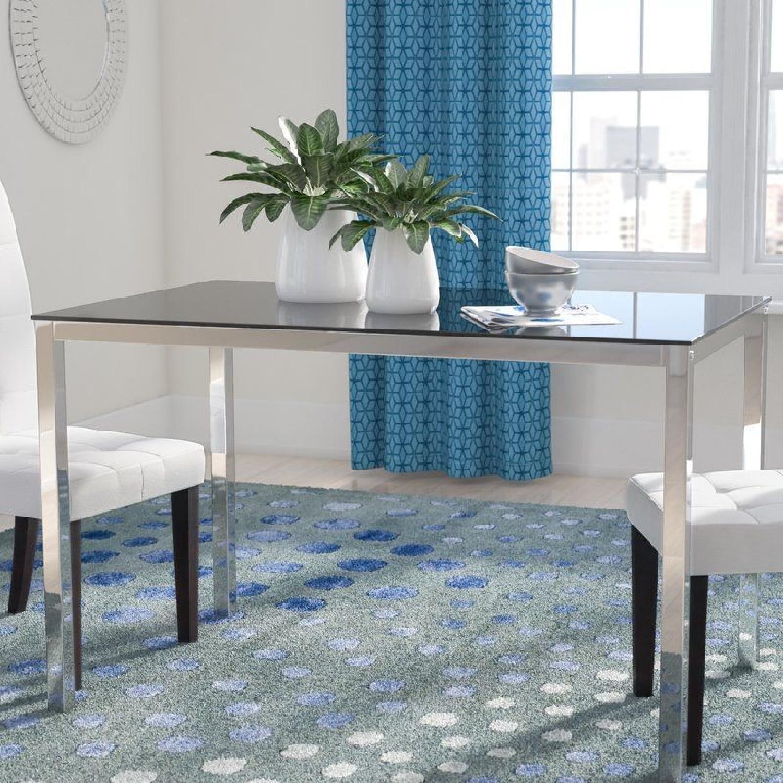 Wade Logan Heier Rectangle Dining Table - image-0