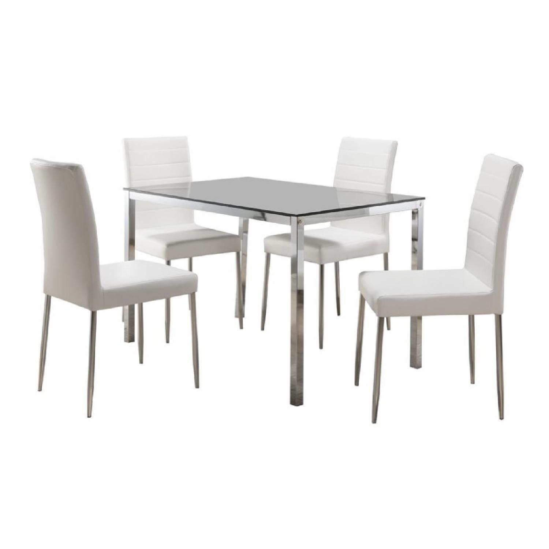 Wade Logan Heier Rectangle Dining Table - image-1