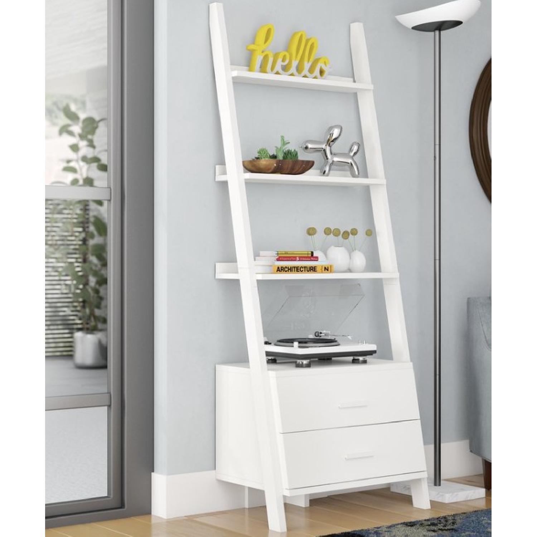 Mercury Row Antoninus Ladder Bookcase - image-1