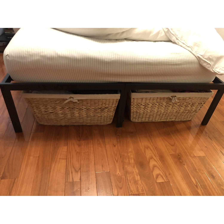 Olee Sleep Full Size Black Bed Frame - image-1