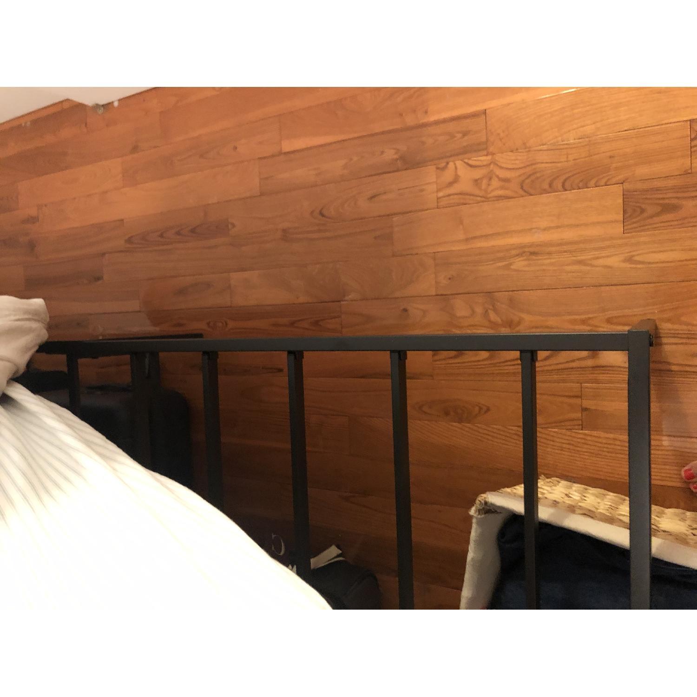 Olee Sleep Full Size Black Bed Frame-2
