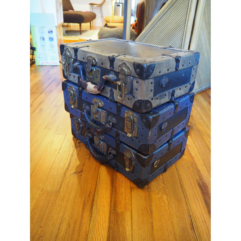 Antique Salesman's Suitcases - image-1