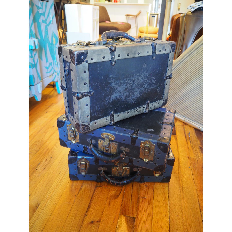 Antique Salesman's Suitcases - image-2