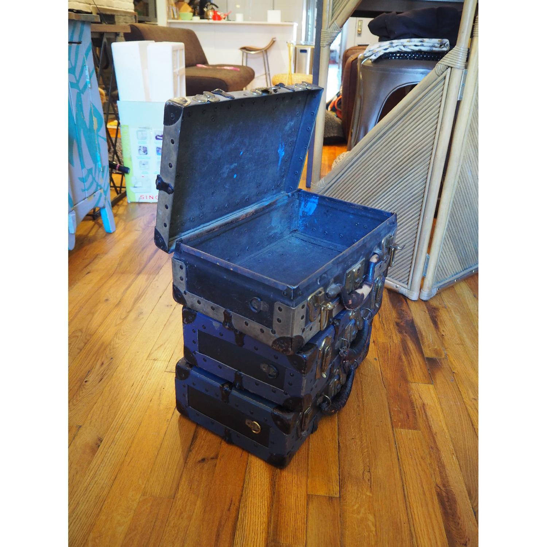 Antique Salesman's Suitcases - image-3