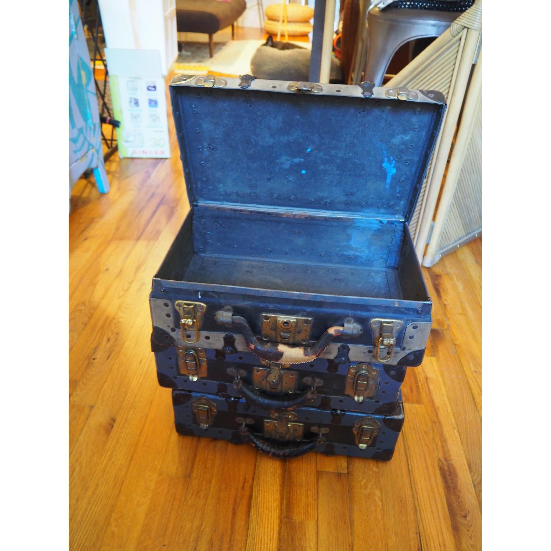 Antique Salesman's Suitcases - image-4