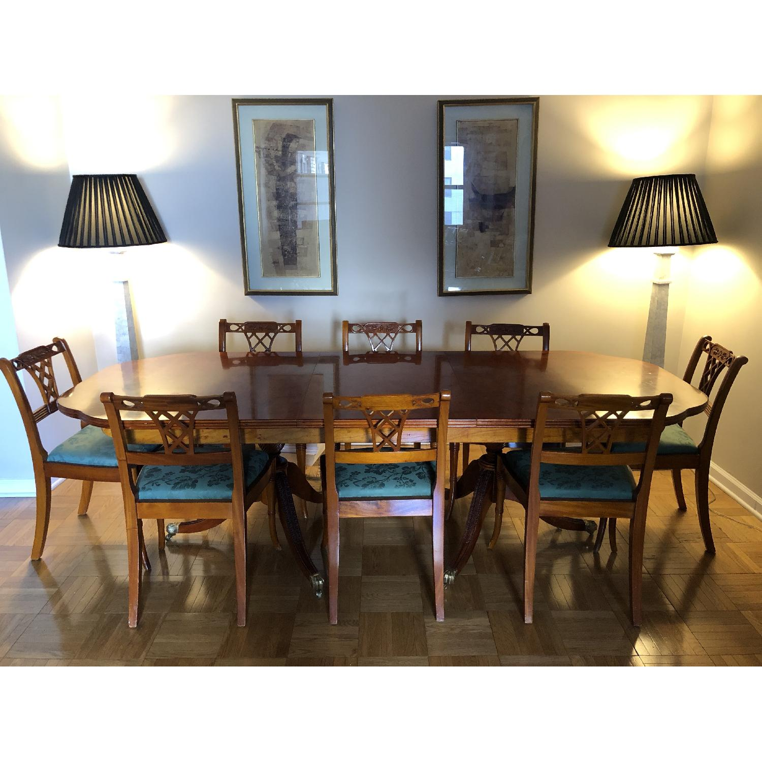 9-Piece English Dining Set - image-1