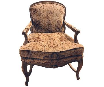 Vintage Victorian Arm Chair