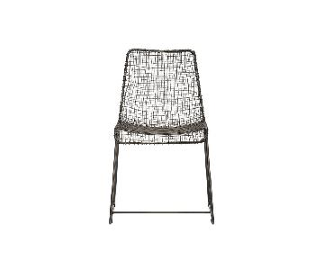 CB2 Reed Wire Chair
