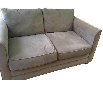 Olive Green Loveseat