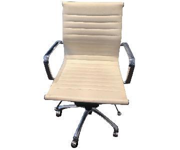 Wayfair Basics White Executive Office Chair