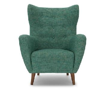 Article Mod Spearmint Aqua Armchair