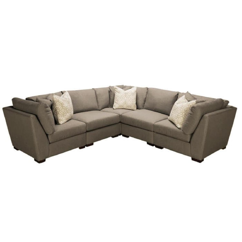 Bauhaus Klein 5 Piece Sectional Sofa - AptDeco