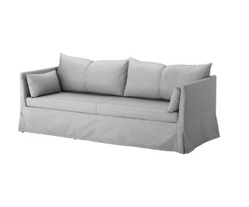 Ikea Sanbacken Grey Sofa