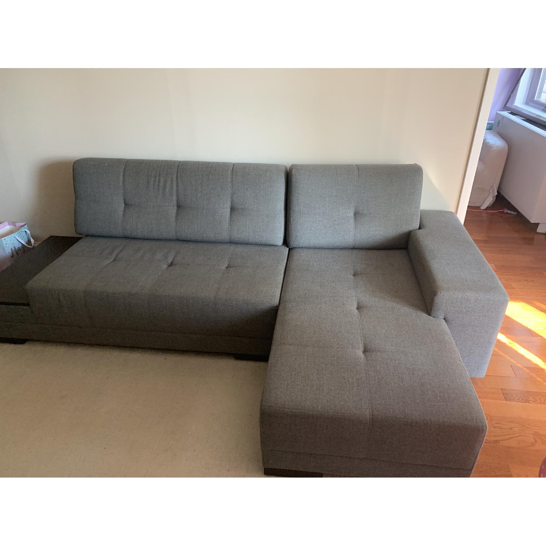 Lazzoni Budka Sleeper Sectional Sofa - image-2