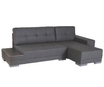 Lazzoni Budka Sleeper Sectional Sofa